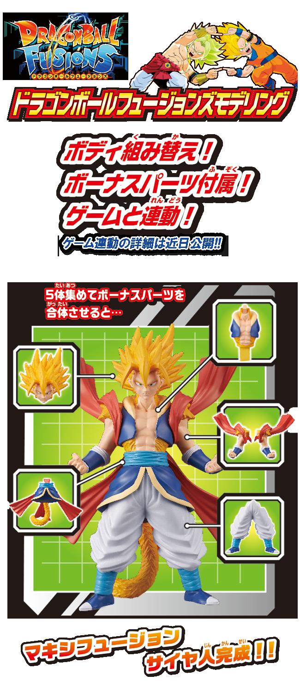 【商品紹介】ドラゴンボールフュージョンズモデリング